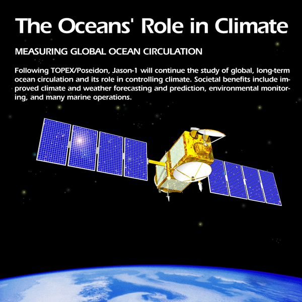 Oceans' Role in Climate - Jason-1