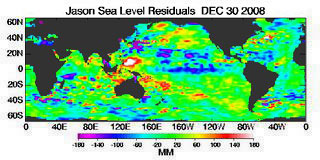 December 2008 Global Sea Level Anomalies