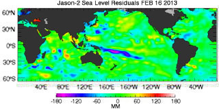 Latest jason data from: 02/16/2013