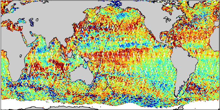 Sea Surface Height Anomaly: SARAL and Jason-2 Measurements from 15-Oct-2014 to 25-Oct-2014