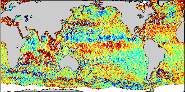 Sea Surface Height Anomaly: SARAL and Jason-2 Measurements from 14-Nov-2014 to 24-Nov-2014