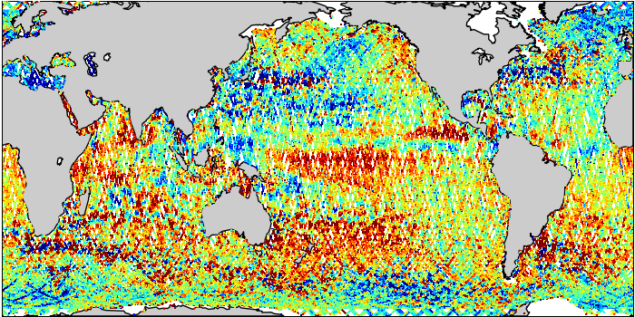 Sea Surface Height Anomaly: SARAL and Jason-2 Measurements from 17-Mar-2015 to 27-Mar-2015