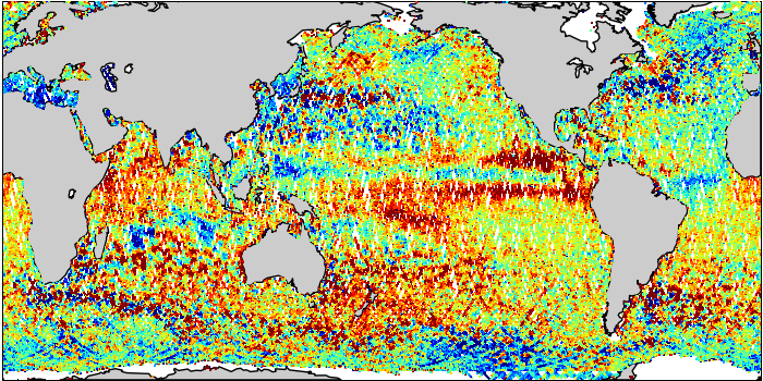 Sea Surface Height Anomaly: SARAL and Jason-2 Measurements from 17-Apr-2015 to 27-Apr-2015