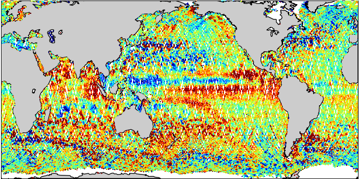 Sea Surface Height Anomaly: SARAL and Jason-2 Measurements from 18-May-2015 to 28-May-2015