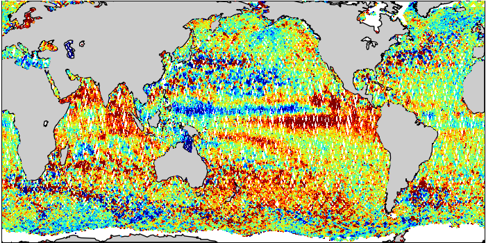 Sea Surface Height Anomaly: SARAL and Jason-2 Measurements from 02-Jun-2015 to 12-Jun-2015