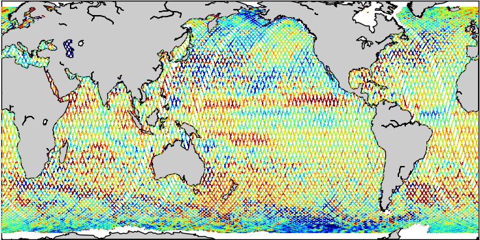 Sea Surface Height Anomaly: SARAL, Jason-2 and Jason-3 Measurements from 10-May-2019 to 20-May-2019