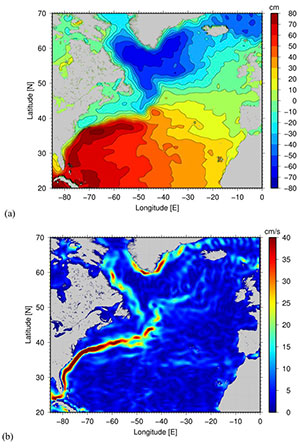 Image for Using altimetry to monitor the ocean's response to a changing climate
