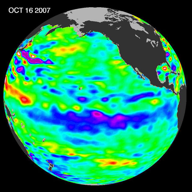 Read news item: La Niña Persists