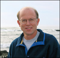 This is an image of Dudley Chelton, Oceanographer
