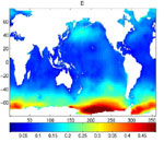 Image to support 'Studies Of The Large-Scale Ocean Variability Using Satellite Altimetry'