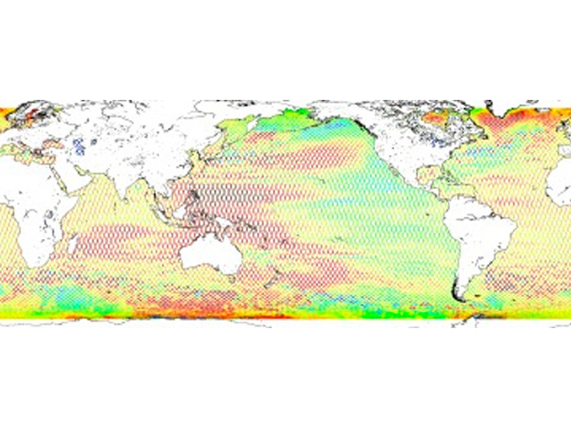 MEaSUREs Multi-Mission Ocean Altimeter Data for Climate Research complete time series Version 4